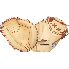"Rawlings Heart of the Hide Baseball Catcher's Mitt 32.5"" PROSP13C"