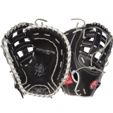 "CLOSEOUT Rawlings Heart of the Hide Fastpitch Softball First Base Mitt 12.5"" PROTM8SB-17BG"