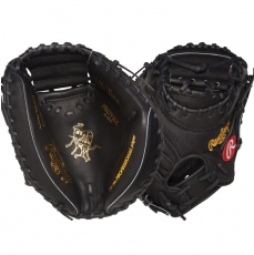 "Rawlings Heart of the Hide Baseball Catcher's Mitt 34"" PROYM4"