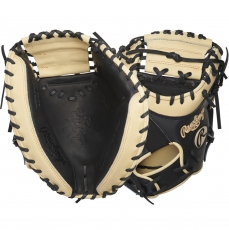 "Rawlings Heart of the Hide Baseball Catcher's Mitt 34"" PROYM4BC"