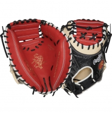 "Rawlings Heart of the Hide Baseball Catcher's Mitt 34"" PROYM4SCC"