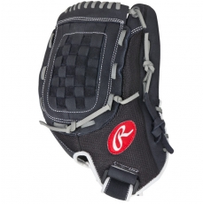 "Rawlings Renegade Baseball/Slowpitch Softball Glove 12.5"" R125BGB"