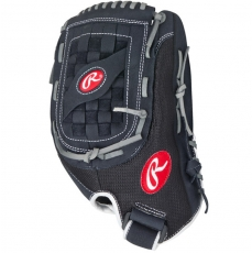 "CLOSEOUT Rawlings Renegade Baseball/Slowpitch Softball Glove 13"" R130BGB"