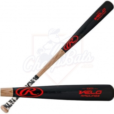 CLOSEOUT Rawlings Velo Ash Wood Baseball Bat -3oz R271VG