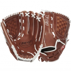 "CLOSEOUT Rawlings R9 Series Fastpitch Softball Glove 12.5"" R9SB125FS-3DB"