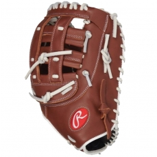 CLOSEOUT Rawlings R9 Series Fastpitch Softball First Base Mitt 12.5