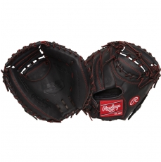 "Rawlings R9 Series Youth Pro Taper Baseball Catcher's Mitt 32"" R9YPTCM32B"