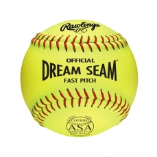 "Rawlings Dream Seam Fastpitch Softball ASA 11"" (1 Dozen) C11RYLA"