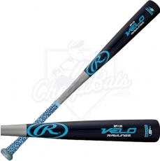 CLOSEOUT Rawlings Velo Wood Composite Youth Big Barrel Baseball Bat -5oz SL151G
