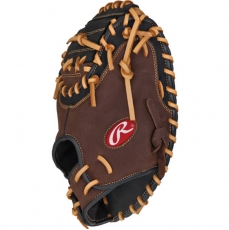 "CLOSEOUT Rawlings Player Preferred Baseball Catcher's Mitt 33"" RCM30SB"