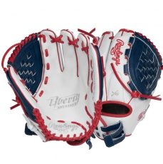 "CLOSEOUT Rawlings Liberty Advanced Color Series Fastpitch Softball Glove 12"" RLA120-3WNS"
