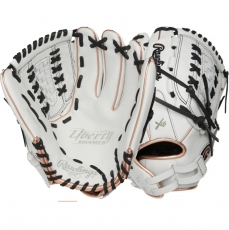 "CLOSEOUT Rawlings Liberty Advanced Color Series Fastpitch Softball Glove 12.5"" RLA125-18RG"