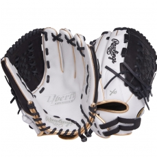 "CLOSEOUT Rawlings Liberty Advanced Color Series Fastpitch Softball Glove 12.5"" RLA125-18WBG"