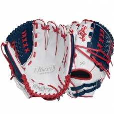 "CLOSEOUT Rawlings Liberty Advanced Color Series Fastpitch Softball Glove 12.5"" RLA125-18WNS"
