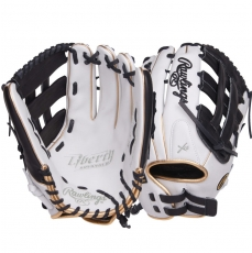 "CLOSEOUT Rawlings Liberty Advanced Color Series Fastpitch Softball Glove 13"" RLA130-6WBG"
