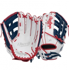 "CLOSEOUT Rawlings Liberty Advanced Color Series Fastpitch Softball Glove 13"" RLA130-6WNS"