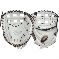 "CLOSEOUT Rawlings Liberty Advanced Color Series Fastpitch Softball Catcher's Mitt 33"" RLACM33FPRG"