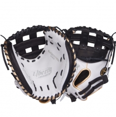 "CLOSEOUT Rawlings Liberty Advanced Color Series Fastpitch Softball Catcher's Mitt 33"" RLACM33FPWBG"
