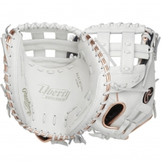 "Rawlings Liberty Advanced Fastpitch Softball Catcher's Mitt 33"" RLACM33RG"