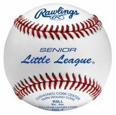 Rawlings Baseballs RSLL (Tournament Grade) Senior Little League (1 Dozen)