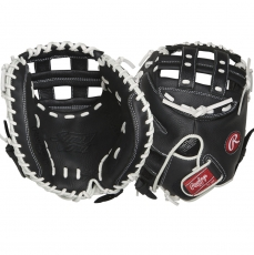 "Rawlings Shut Out Fastpitch Softball Catcher's Mitt 32.5"" RSOCM325BW"