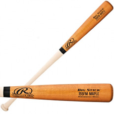 CLOSEOUT Rawlings Wood Baseball Bat Performance Maple 155FMAP