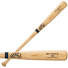 Rawlings Wood Baseball Bat Adirondack Ash 232AP