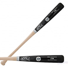 CLOSEOUT Rawlings Wood Baseball Bat Adirondack Pro Maple 271MAP