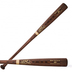 CLOSEOUT Rawlings Wood Baseball Bat Adirondack Pro Ash 460AP
