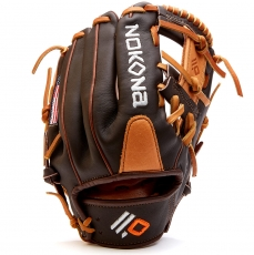 "Nokona Alpha Youth Baseball Glove 11.25"" S-200I"