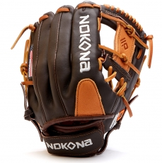 "Nokona Alpha Youth Baseball Glove 11.25"" S-V1I"