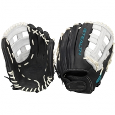 "CLOSEOUT Easton Stealth Pro Fastpitch Softball Glove 12.25"" STFP1225BKWH"