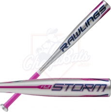 2021 Rawlings Storm Youth USA Tee Ball Bat -12oz TBZS12
