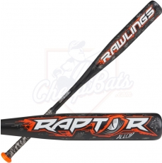 CLOSEOUT 2018 Rawlings Raptor Youth USA Baseball Bat -10oz US8R10