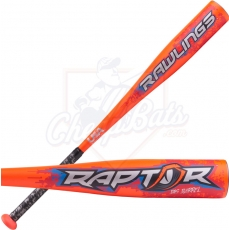 CLOSEOUT 2018 Rawlings Raptor Youth USA Baseball Bat -8oz US8R8