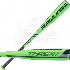 2019 Rawlings Threat Youth USA Baseball Bat -12oz US9T12