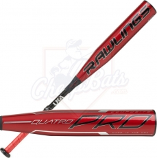 2020 Rawlings Quatro Pro Youth USA Baseball Bat -8oz USZQ8