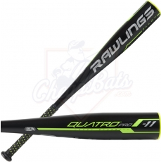 CLOSEOUT 2019 Rawlings Quatro Pro Junior Big Barrel USSSA Baseball Bat -11oz UT9Q11