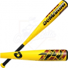 CLOSEOUT 2016 DeMarini Voodoo Raw Junior Big Barrel Baseball Bat -10oz WTDXVDX-16
