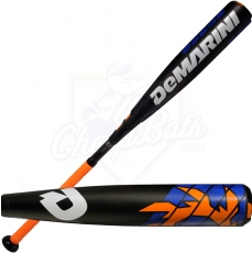 "2016 DeMarini Voodoo Raw Youth Big Barrel Baseball Bat 2 3/4"" -10oz WTDXVDZ-16"