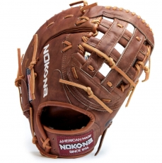 "Nokona Walnut Baseball First Base Mitt 13"" W-N70H"