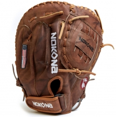 "Nokona Walnut Baseball First Base Mitt 14"" W-N80C"