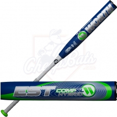 2019 Worth EST Comp Hybrid XL Slowpitch Softball Bat End Loaded USSSA W125EH