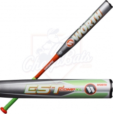 2019 Worth EST Comp XL Slowpitch Softball Bat End Loaded ASA W12XLA