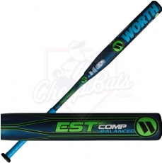 CLOSEOUT 2017 Worth EST Slowpitch Softball Bat Balanced USSSA WEST12