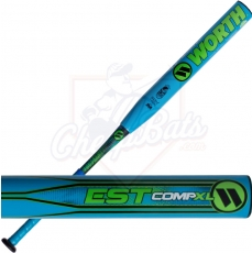 CLOSEOUT 2017 Worth EST Comp XL Slowpitch Softball Bat End Loaded USSSA WESTMU