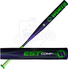 CLOSEOUT 2017 Worth EST Comp XL Slowpitch Softball Bat End Loaded ASA WESTRA