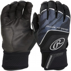 Rawlings Workhorse Compression Batting Gloves (Adult Pair) WHCSBG