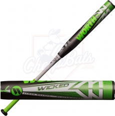 2019 Worth Wicked XL Jason Branch Slowpitch Softball Bat End Loaded USSSA WKJBMU