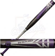 2019 Worth Wicked XL Ryan Harvey Slowpitch Softball Bat End Loaded ASA WKRHMA